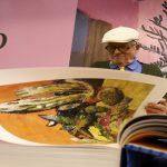 رسام بريطاني يقدم كتابا ضخما لأعماله خلال معرض فرانكفورت للكتاب