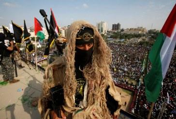 آلاف يحيون ذكرى انطلاقة حركة الجهاد الإسلامي في غزة
