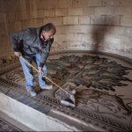 صور| أريحا تستعد لإزاحة الستار عن إحدى أكبر لوحات الفسيفساء في العالم