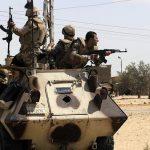 مقتل 12 إرهابيا بعمليات متفرقة للجيش المصري في شمال سيناء