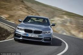 إنفوجرافيك: تعرف على مواصفات سيارة BMW الفئة الخامسة الجديدة