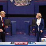 فيديو| برنامج كوميدي يسخر من المناظرة الثانية لهيلاري وترامب