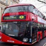 لندن تبدأ بتشغيل حافلات كهربائية صديقة للبيئة بنهاية العام