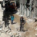 145 قتيلا خلال يومين من القصف بشرق حلب