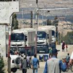 اجلاء 620 مقاتلا مع عائلاتهم من معضمية الشام المحاصرة قرب دمشق