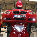 عرض أول للسيارة «الروبوت» في معرض Big Toys Boys بأبو ظبي