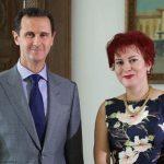 صور  تعرف على المذيعة الروسية التي حاورت الرئيس السوري بشار الأسد