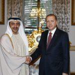 الرئيس التركي يستقبل عبدالله بن زايد