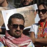 صور| وقفة صامتة أمام قصر العدالة الأردني حدادًا على روح «ناهض حتر»