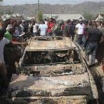 مقتل 7 أشخاص بتفجير سيارة أجرة شمال شرقي نيجيريا
