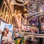 فيديو| افتتاح أول مطعم «رولر كوستر» في بريطانيا
