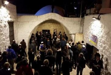 مستوطنون يقتحمون «مقام يوسف» في الضفة تحت حماية قوات الاحتلال