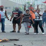 شرطة جنوب أفريقيا تعتقل تسعة أشخاص في أعمال شغب قرب جامعة