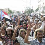 آلاف اليمنيين الجنوبيين يتظاهرون في عدن