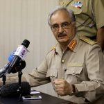 حفتر يستبعد محادثات مرتقبة مع حكومة الوفاق الوطني