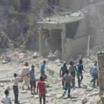 مقتل 5 مدنيين في قصف نفذته مجموعات مسلحة بدمشق