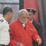 ثالث حكم نهائي بالسجن المؤبد لمرشد الإخوان في مصر