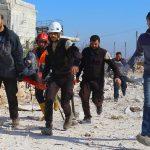 خروج أكثر من 2000 من مسلحي المعارضة وأسرهم من حي القابون في دمشق