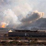 فيديو| المرصد السوري: طائرات حربية سورية تقصف موقعا قرب دمشق
