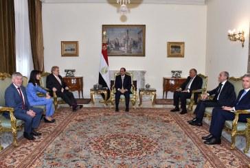 وفد من البرلمان الأوروبي في القاهرة لبحث تعزيز التعاون الثنائي