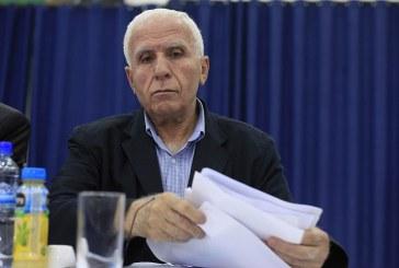 عزام الأحمد: الخطوة المقبلة للمصالحة تشكيل حكومة وحدة وطنية