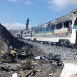 ارتفاع حصيلة قتلى حادث قطاري إيران إلى 44