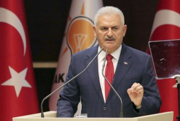 يلدريم يعلن فوز مؤيدي توسيع صلاحيات إردوغان في استفتاء تركيا