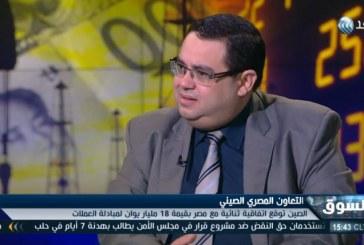 فيديو| أهداف تبادل العملات بين مصر والصين