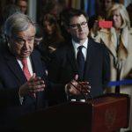 جوتيريس يترأس الأمم المتحدة وسط اشتعال قضايا الشرق الأوسط
