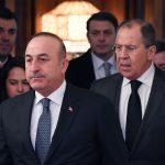 وزيرا خارجية روسيا وتركيا يبحثان هدنة سوريا