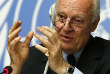 فيديو| دي ميستورا من «جنيف 4»: لا بديل عن الحل السياسي لأزمة سوريا