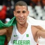 البطل الأولمبي الجزائري مخلوفي عالق بجنوب أفريقيا