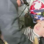 فيديو| مشاهد للتاريخ في 2016.. إنقاذ طفل من تحت أنقاض زلزال تايوان