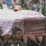 فيديو| بدء مراسم تشييع ضحايا تحطم طائرة الفريق البرازيلي
