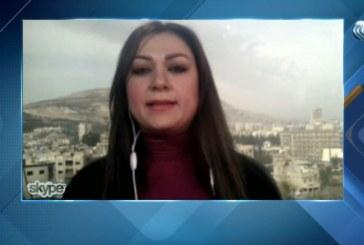 فيديو  مراسلة الغد: لا توجد معلومات مؤكدة عن وجود قصف إسرائيلي على القنيطرة