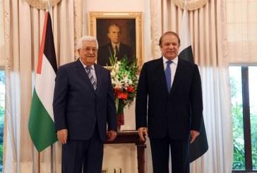 عباس يطلع رئيس وزراء باكستان على تداعيات نقل السفارة الأمريكية