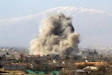 فيديو| غارات التحالف الدولي تستهدف عناصر داعش والمدنيين في دير الزور