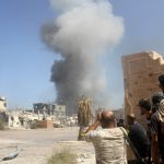 11 قتيلا في انفجار سيارتين ملغومتين ببنغازي في ليبيا