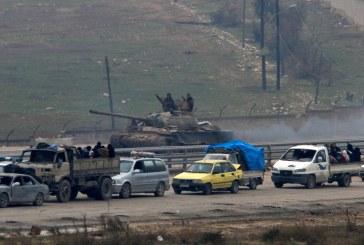 القوات السورية تصعد هجومها قرب دمشق رغم استمرار الهدنة