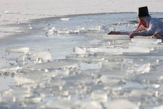 «ملك جليد كيمزي».. مسابقة ألمانية في درجة حرارة تحت الصفر