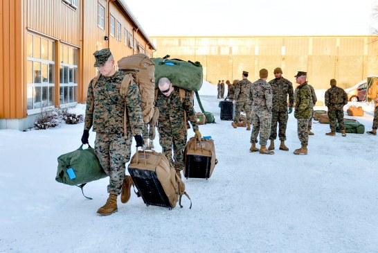صور| وصول مئات من مشاة البحرية الأمريكية إلى النرويج يثير حفيظة روسيا