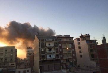 انفجار مركبة وسط قطاع غزة دون وقوع إصابات