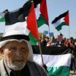 عرب فلسطين يحتجون على هدم منازل في مدينة قلنسوة