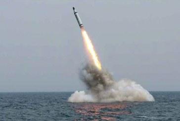 كوريا الشمالية تطلق صاروخا باليستيا لأول مرة منذ انتخاب ترامب