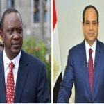 الرئيس المصري يبحث في كينيا سبل تعزيز العلاقات الثنائية