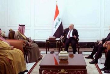صور| الزيارة الأولى لوزير خارجية سعودي إلى بغداد منذ 2003