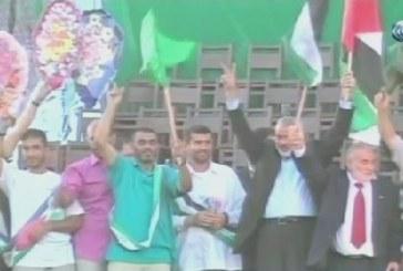 فيديو| السنوار خلفا لهنية في قيادة مكتب حماس في غزة