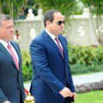 السيسي والملك عبد الله يبحثان مستجدات القضية الفلسطينية