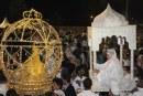فيديو| موقف محرج لعروس مغربية في ليلة زفافها
