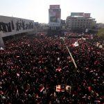 كاميرا الغد ترصد أجواء الاحتجاجات من داخل ساحة التحرير بالعاصمة بغداد